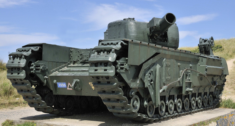 БРЭМ «Churchill AVRE»