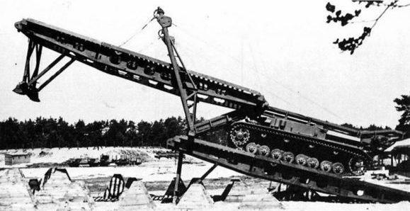 Мостоукладчик Brueckenleger Kampfwagen IVb