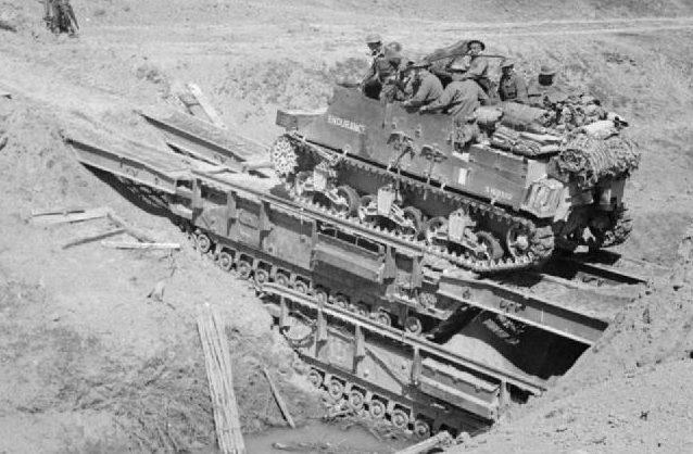 Мостоукладчик ARK Mk-І на базе танка «Churchill»