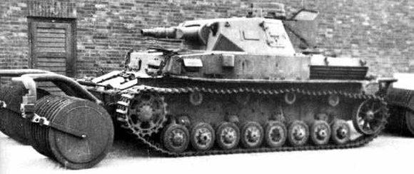 Катковый трал Pz.Minenraumgerat IV