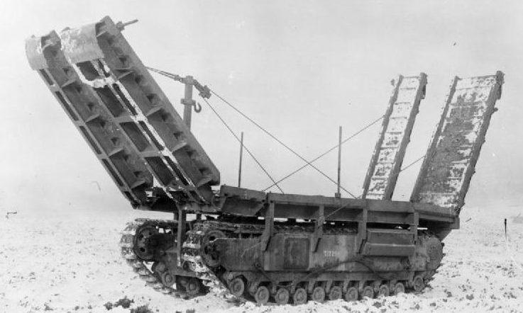 Мостоукладчик ARK Mk-II на базе танка «Churchill»