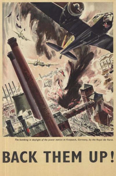 Пропагандистские плакаты Великобритании.