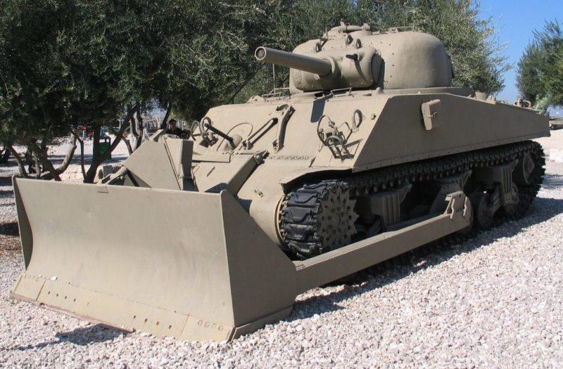 Бульдозер M-4 Dozer