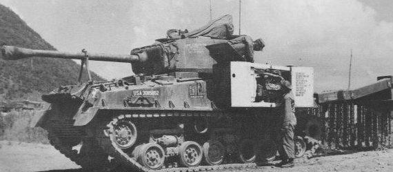 Цепной трал M-4A3 (HVSS)