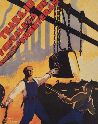 Пропагандистские плакаты Мексики.