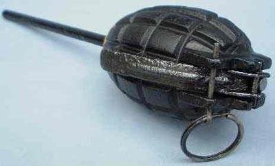 ружейный вариант гранаты Mills Bomb № 23 Mk-II