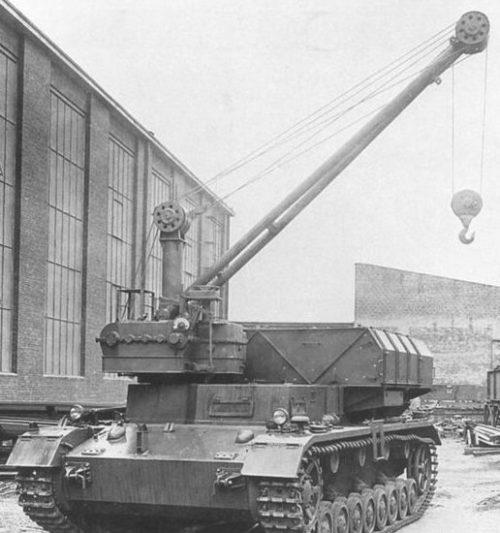 Подвозчик боеприпасов для орудия «Morser Karl»