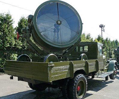 Подвижная прожекторная станция З-15-4Б