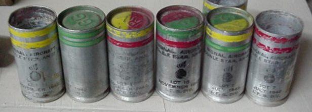 Набор сигнальных патронов для ракетницы М-2 с алюминиевой гильзой