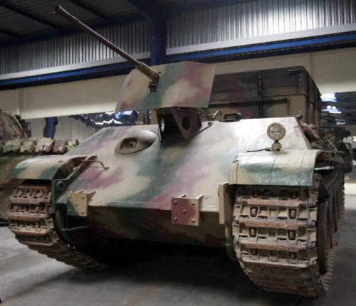 БРЭМ Bergepanzerwagen Panther Ausf.G