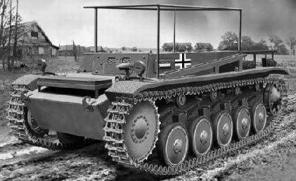 Саперная машина Pioner-Kampfwagen II