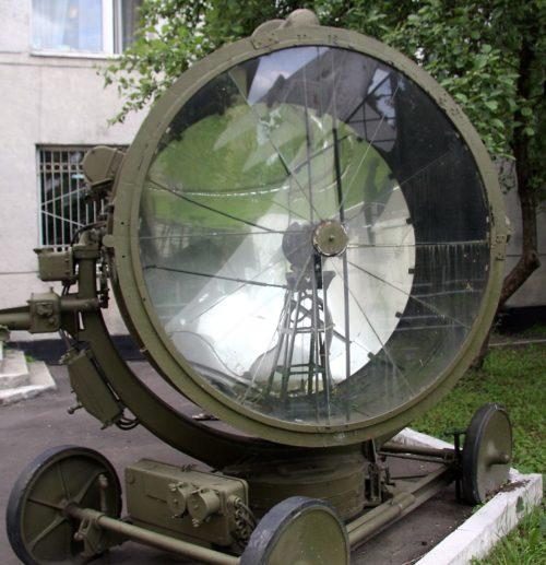 Зенитный прожектор З-15-4Б