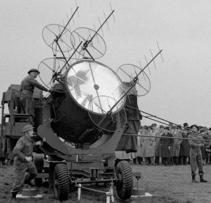 Прожектор с радаром