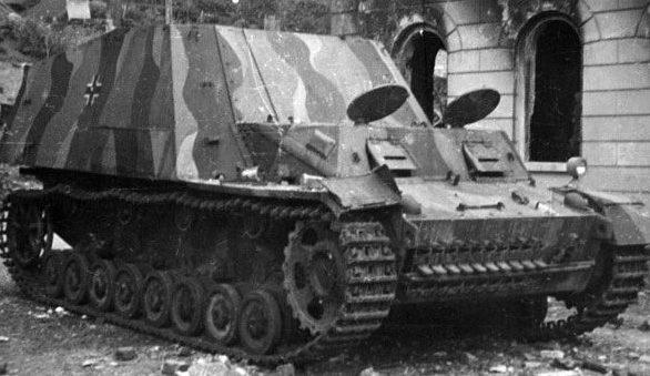 Подвозчик боеприпасов Selbstfahrlafette Fgst. Panzer III/IV