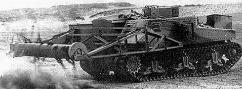 Минный цепной трал «Sherman Scorpion»