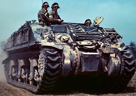 БРЭМ Sherman III ARV -I