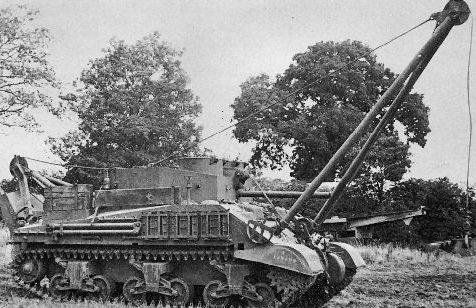БРЭМ Sherman III ARV-II