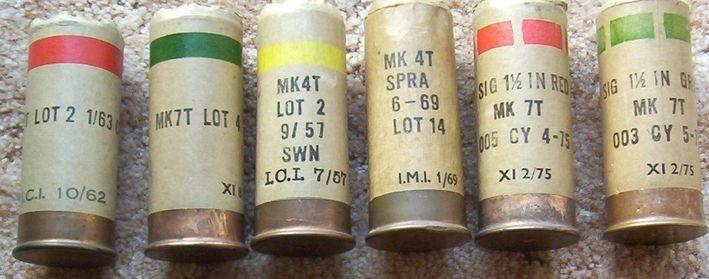 Набор сигнальных патронов 37-мм калибра