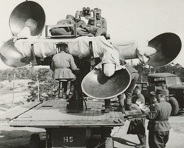 Акустический локатор Austrian Goerx m/39