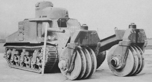 Минный катковый трал «T-1»