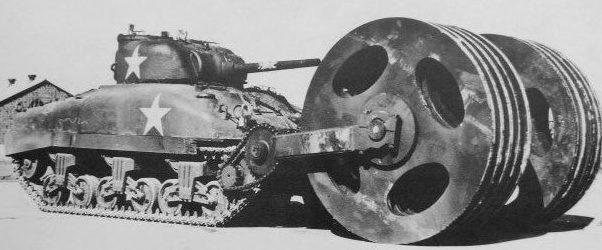Минный катковый трал T-1E3