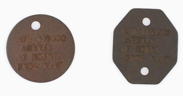 Канадские жетоны,выпущенные для австралийских пилотов.