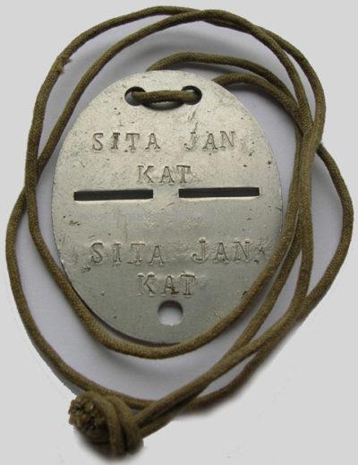Жетоны образца 1939 г.