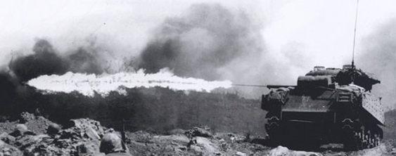 Средний огнеметный танк М-4 «General Sherman»