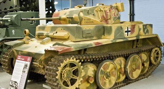Легкий танк Panzerspähwagen II Ausf L