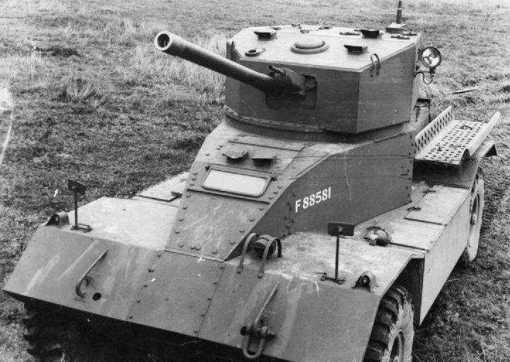 Тяжелый бронеавтомобиль Armoured Car AEC. Mk-II