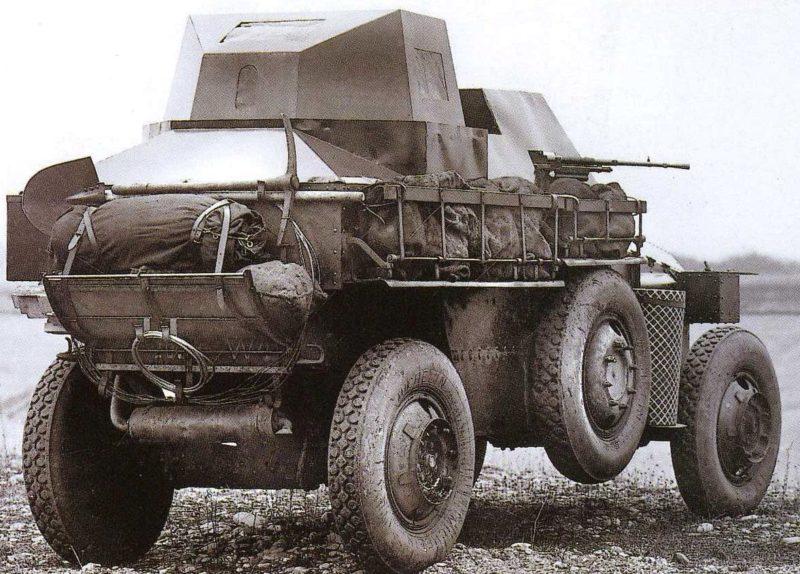 Легкий бронеавтомобиль Berliet VUDB