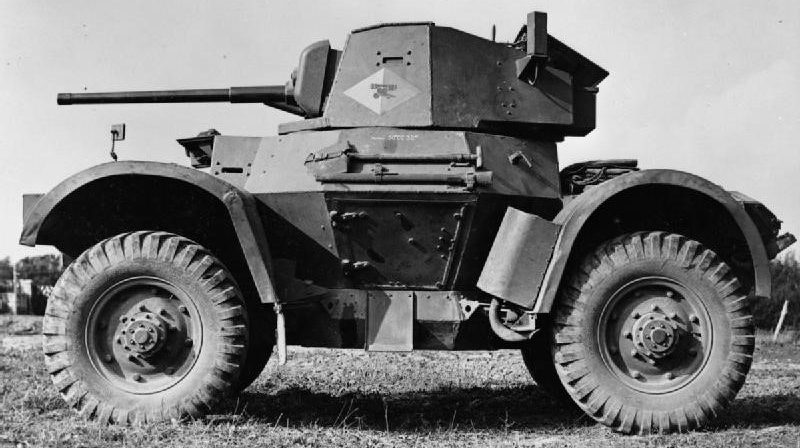 Daimler Armoured Car Mk-I