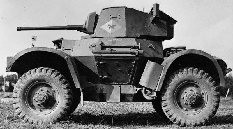 Средний бронеавтомобиль Daimler Armoured Car Mk-I