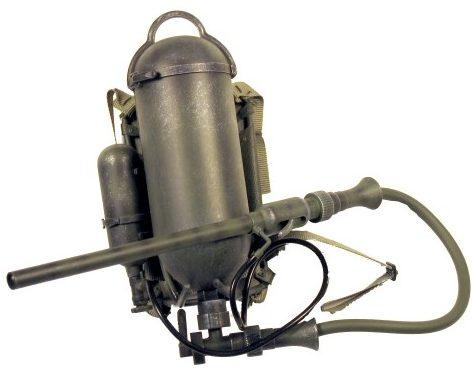 Ранцевый огнемет Flammenwerfer 35