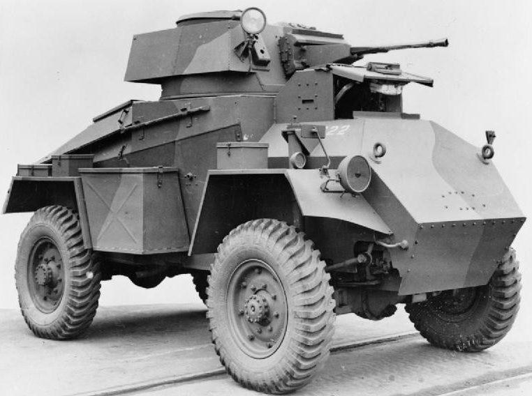 Средний бронеавтомобиль Guy Armoured Car Mk-IA