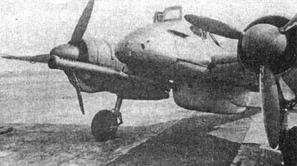 Hs 129B-3 с пушкой ВК-7.5