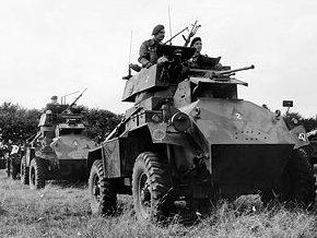 Средний бронеавтомобиль Humber Armoured Car. Mk-I