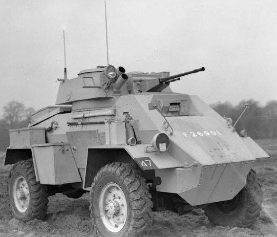 Средний бронеавтомобиль Humber Armoured Car. Mk-IІ