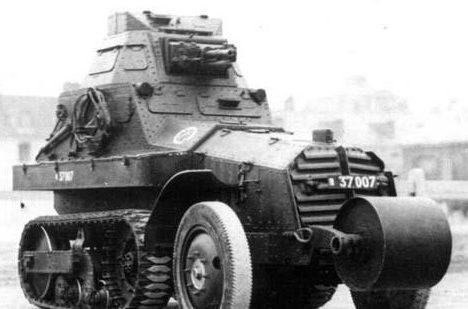 Бронеавтомобиль Citroen-Kegresse Р-16 (М-29).