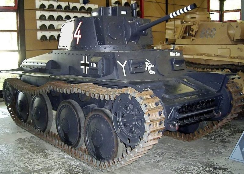 Легкий танкLT vz. 38 (PzKpfw.38(t) Ausf.A)