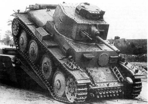 Легкий танк LT vz. 38 (PzKpfw.38(t) Ausf.G)