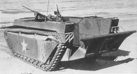 Бронированная амфибия LVT-4