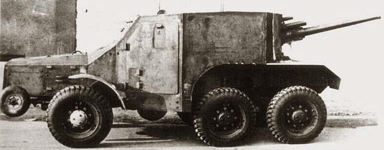 Броневик Laffly S-15 ТТС