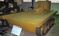 Плавающий танк Light Amphibious Tank Vickers