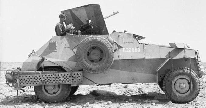 Средний бронеавтомобиль Marmon-Herrington. Mk-II