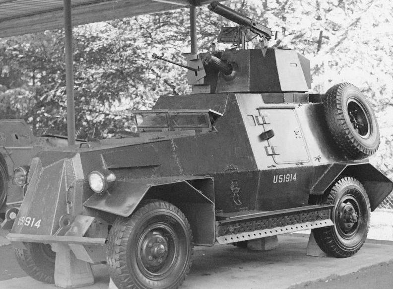 Средний бронеавтомобиль Marmon-Herrington. Mk-III