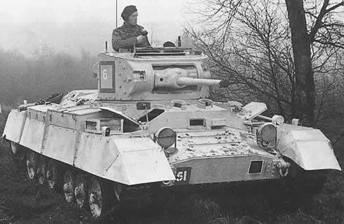 Легкий танк Mk-III Valentin