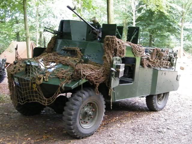 Легкий бронеавтомобиль Morris Light Reconnaissance Car. Mk-II