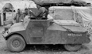 Легкий бронеавтомобиль Morris Light Reconnaissance Car. Mk-IOP.