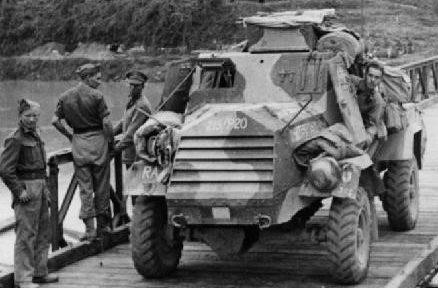 Легкий бронеавтомобиль Otter Light Reconnaissance Car